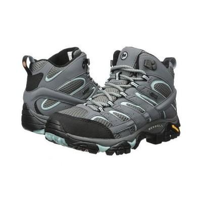 Merrell メレル レディース 女性用 シューズ 靴 ブーツ ハイキングブーツ Moab 2 Mid GTX - Sedona Sage