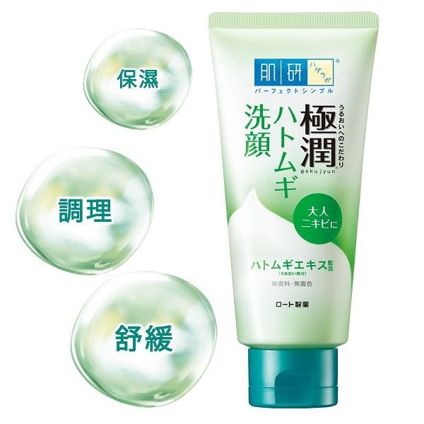 Hada-Labo肌研極潤健康深層清潔調理洗面乳100g