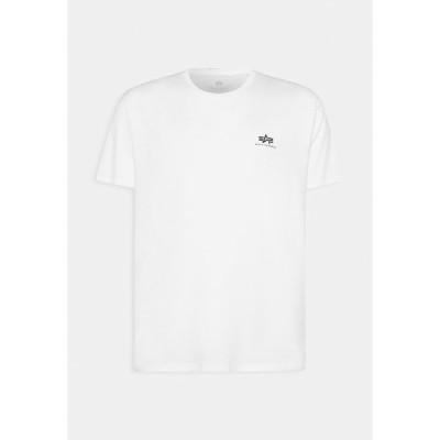 アルファインダストリーズ Tシャツ メンズ トップス BACK PRINT - Print T-shirt - white