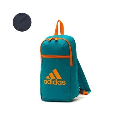 (adidas/アディダス)アディダス ボディバッグ キッズ adidas 斜めがけ ショルダー 男の子 女の子 幼稚園 保育園 小学生低学年 軽量 5L 3111/ユニセックス グリーン