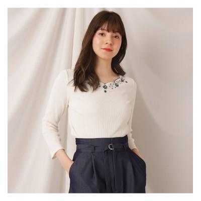 【クチュール ブローチ/Couture brooch】 パールスカラエンブロプルオーバー