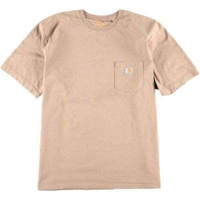 カーハート ワンポイントロゴポケットTシャツ 2XL /eaa012722