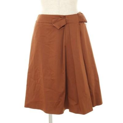 フォクシーブティック スカート 25283 リボンタック リボン 38