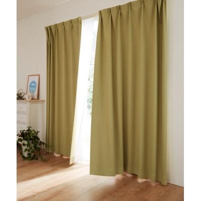 デニム調・遮熱・遮光カジュアルカーテン ドレープカーテン(遮光あり・なし) Curtains, blackout curtains, thermal curtains, Drape(ニッセン、nissen)