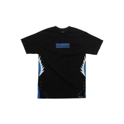人気シューズ 海外セレクション 36 Sneaktip 5 Fire Tシャツ (ブラック / ブルー)