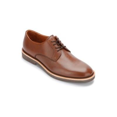 ジェントルソウルズ オックスフォード シューズ メンズ By Kenneth Cole Greyson Men's Buck Lace Up Oxford Shoes Cognac