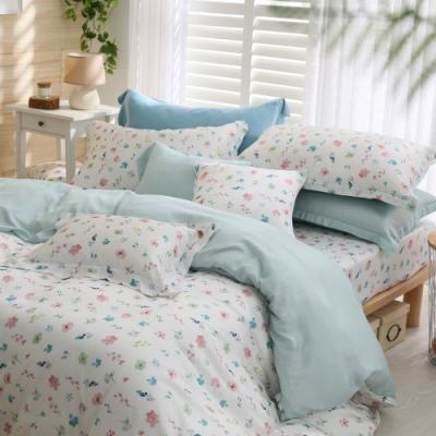 OLIVIA  愛麗絲 雙人床包兩用被套四件組  300織數位印花天絲萊賽爾 台灣製
