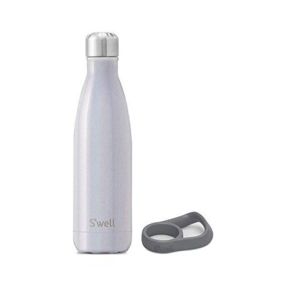S'well Stainless Steel Water Bottle With Travel Handle - 17 Fl Oz - Milky W
