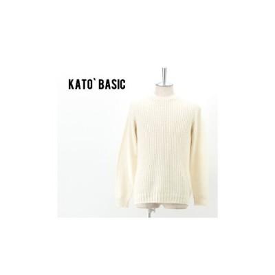 KATO' BASIC カトーベーシック メンズ コットンニットプルオーバー[KN510461](SS)