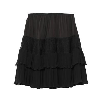 フレンチコネクション FRENCH CONNECTION ひざ丈スカート ブラック 10 ポリエステル 100% / ナイロン ひざ丈スカート
