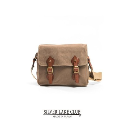 SILVER LAKE CLUB ショルダーバッグ 28cm (ヘリンボーン) ≪大容量 旅行 鞄 プレゼント ギフト 男性 誕生日 彼氏≫