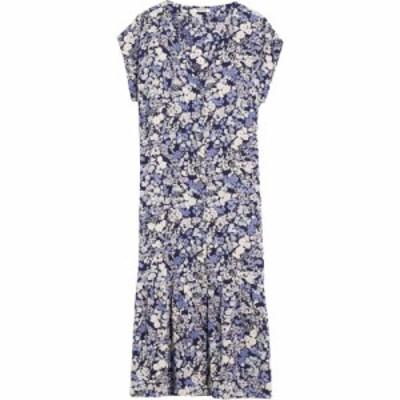 メイドウェル Madewell レディース ワンピース ワンピース・ドレス Short Sleeve Printed Midi Dress Packed Floral Fresh