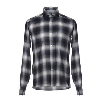 イレブンティ ELEVENTY シャツ スチールグレー 40 コットン 54% / 指定外繊維(テンセル)® 46% シャツ
