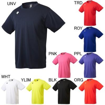 デサント Tシャツ  メンズ ユニセックス ワンポイントハーフスリーブシャツ DESCENTE DMC-5801B