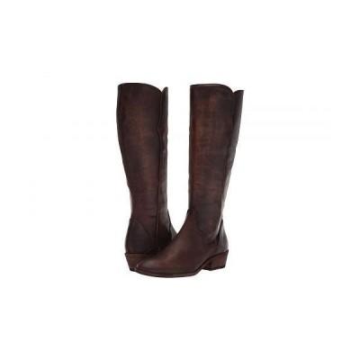 Frye フライ レディース 女性用 シューズ 靴 ブーツ ロングブーツ Carson Piping Tall - Dark Brown