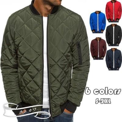 中綿ジャケット メンズ 防寒ジャケット 中綿コート 軽めアウター ジャンパー 軽量 防寒 薄手 あったか 暖 ジャケット 大きいサイズ あたたか 冬服