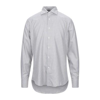 カナーリ CANALI シャツ グレー 40 コットン 100% シャツ