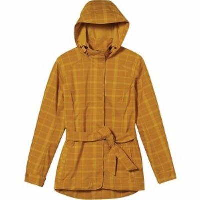 ロイヤルロビンズ Royal Robbins レディース トレンチコート アウター Mobile Waterproof Trench Jacket Nugget Gold