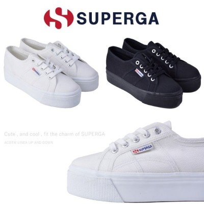 スペルガ SUPERGA 2790 ACOTW LINEA UP AND DOWN S0001LO 厚底 スニーカー