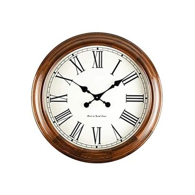 Wall Clocks Wall Clock Non Ticking Battery Operated Vintage Roman Numeral B