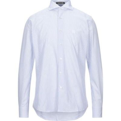 ロベルト カヴァリ ROBERTO CAVALLI メンズ シャツ トップス Striped Shirt White