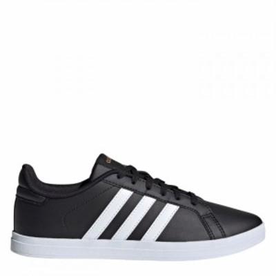 アディダス adidas レディース スニーカー シューズ・靴 Court Point Black/White