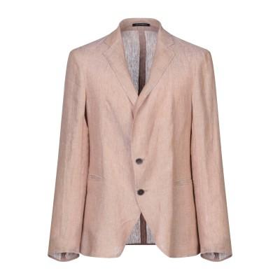 エンポリオ アルマーニ EMPORIO ARMANI テーラードジャケット サンド 46 リネン 100% テーラードジャケット