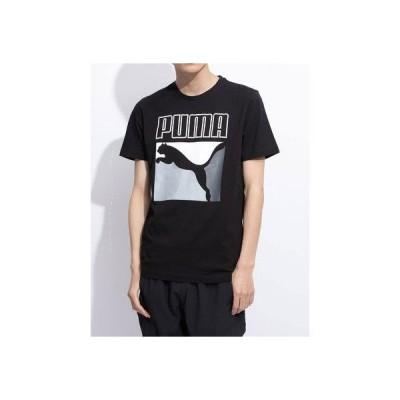 プーマ PUMA CLASSICS ボックスロゴ SS Tシャツ (COTTON BLACK)