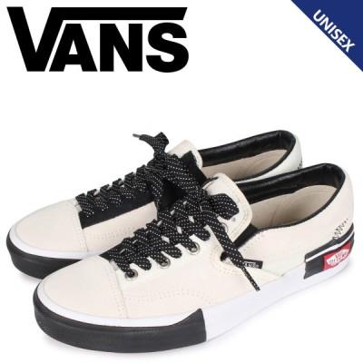 ヴァンズ VANS スリッポン カット スニーカー メンズ レディース バンズ  SLIP-ON CAP ホワイト 白 VN0A3WM5TUU