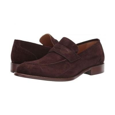 J&M EST. 1850 メンズ 男性用 シューズ 靴 ローファー Bryson Penny - Chocolate