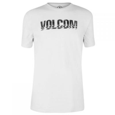 ボルコム Volcom メンズ Tシャツ トップス Printed T-shirt Chopped Edge