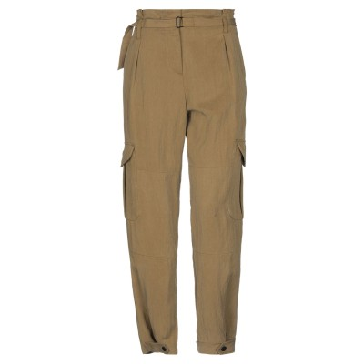 ラグアンドボーン RAG & BONE パンツ ミリタリーグリーン 4 テンセル 94% / ナイロン 6% パンツ
