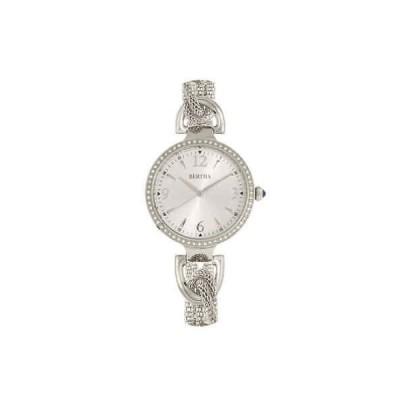 腕時計 バーティー  Bertha Sarah Quartz Crystal Silver Dial Ladies Watch BR8901