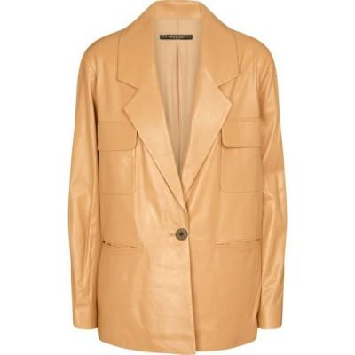 ゼイネプアルケイ Zeynep Arcay レディース スーツ・ジャケット アウター Leather blazer Sand Balm