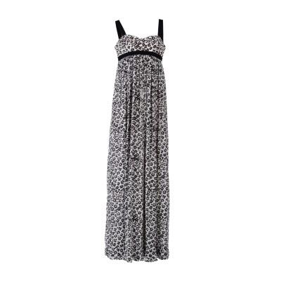 エマニュエル ウンガロ EMANUEL UNGARO ロングワンピース&ドレス ブラック 44 シルク 100% ロングワンピース&ドレス