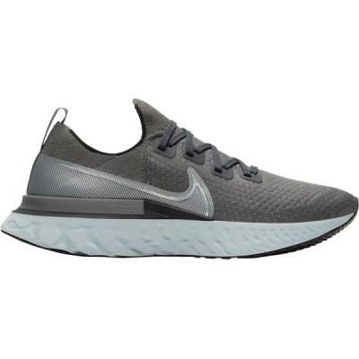 ナイキ シューズ メンズ ランニング Nike Men's React Infinity Run Flyknit Running Shoes Grey/Black