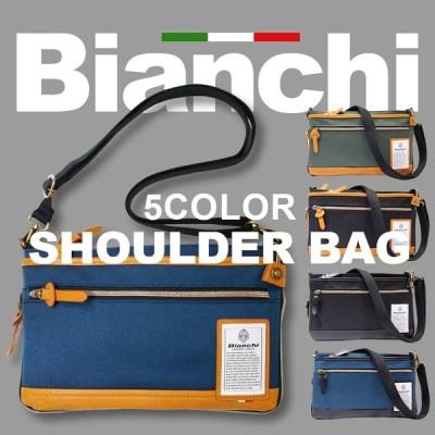 ビアンキ 2WAY サコッシュバッグ 正規品 Bianchi ビアンキ ミニショルダーバッグ クラッチバッグ メンズ レディース ビジネスバッグ おしゃれ 軽量 軽い 撥水性