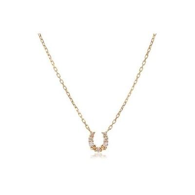 [アガット] agete K18ダイヤモンドネックレス