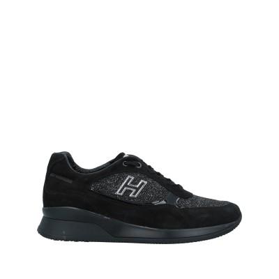 ホーガン HOGAN スニーカー&テニスシューズ(ローカット) ブラック 35.5 革 スニーカー&テニスシューズ(ローカット)