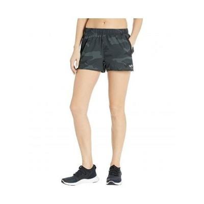 RVCA ルーカ レディース 女性用 ファッション ショートパンツ 短パン Yogger Stretch Short - Camo