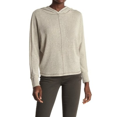 オールインフボール レディース Tシャツ トップス Dolman Sleeve Hooded Sweater OLIVE