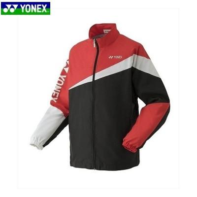 ヨネックス 52020 テニス バドミントン ウェア ユニ裏地付ウォームアップシャツ ブラック 52020