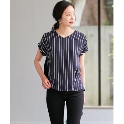 【WEB限定】Cotton Combi Stripe カットソー