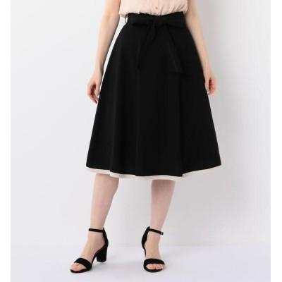 【ミッシュマッシュ/MISCH MASCH】 レース切替リボン付スカート