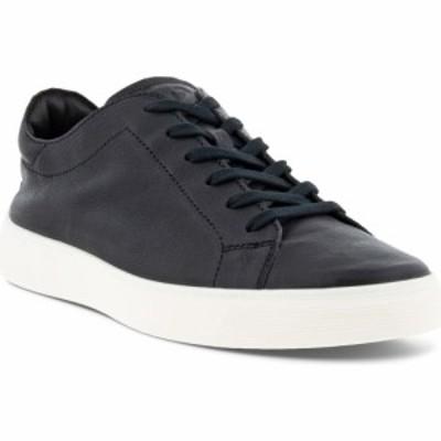 エコー ECCO メンズ スニーカー シューズ・靴 Street Tray Retro Sneaker Black