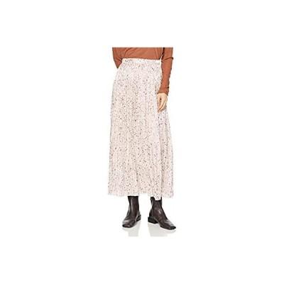 [フレイ アイディー] グロッシープリーツプリントスカート FWFS205027 レディース IVR F
