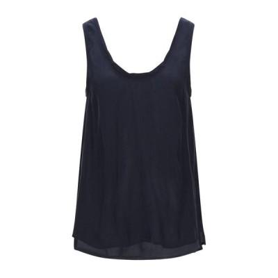 AMERICAN VINTAGE トップス ファッション  レディースファッション  トップス  Tシャツ、カットソー  半袖 ダークブルー