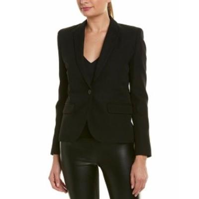 IRO イロ ファッション 衣類 Iro Wool Jacket 38 Black
