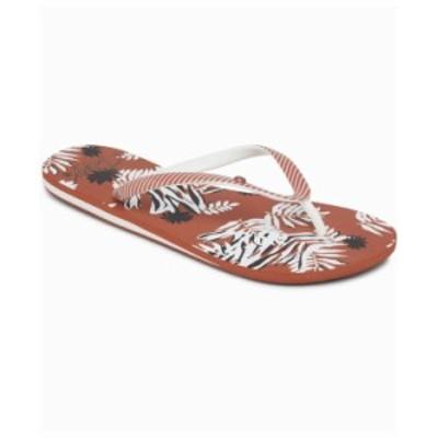 ロキシー レディース サンダル シューズ Women's Portofino Flip Flops Rust