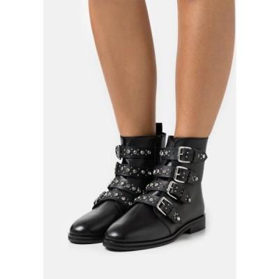 ドロシーパーキンス レディース 靴 シューズ OPALA STUD BOOT - Cowboy/biker ankle boot - black